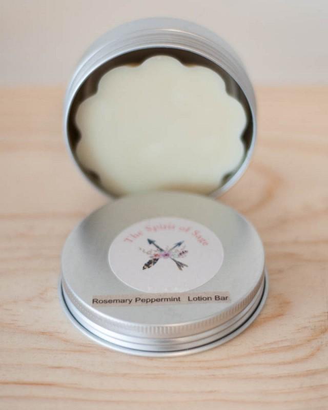 Rosemary Peppermint Handmade Lotion Bar