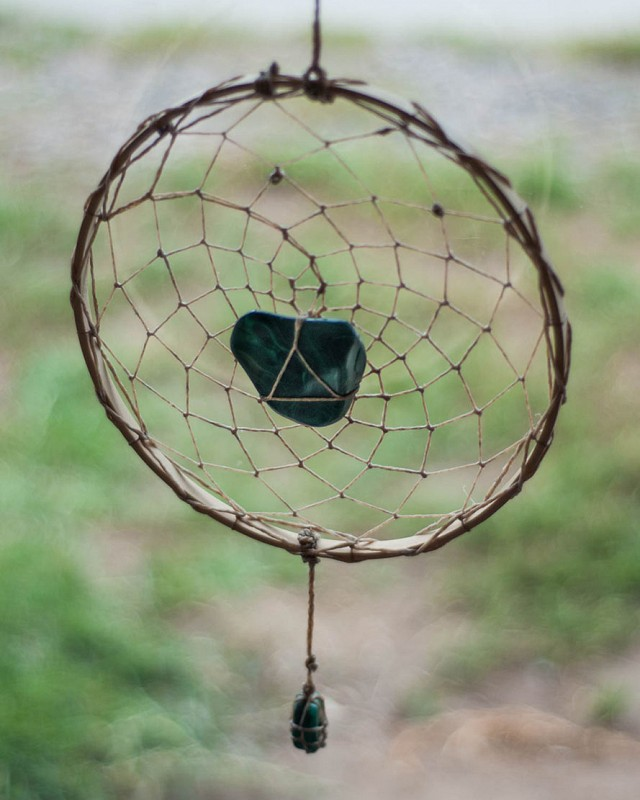 Malachite Dreamcatcher