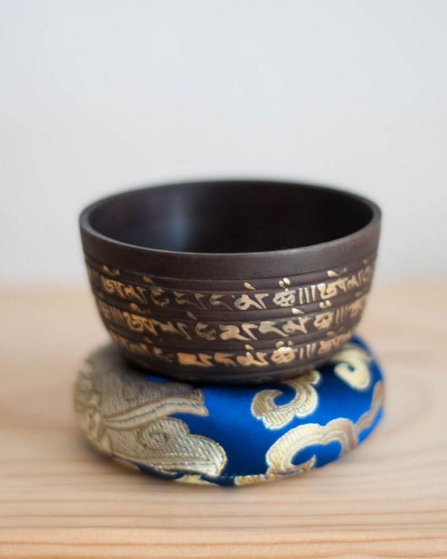 Third Eye Chakra Singing Bowl - ornate