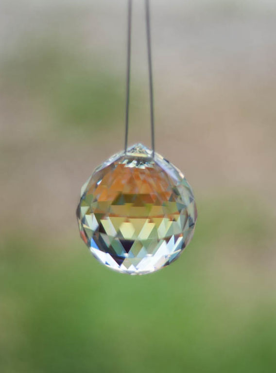 Swarovski Crystal 40mm Rainbow Maker Ball Aurora Borealis