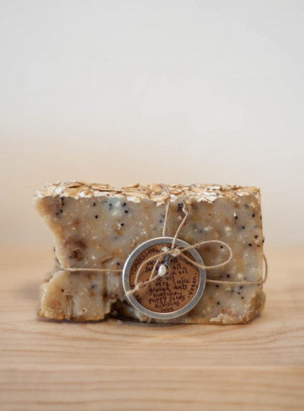 Timberline Topicals Matcha Poppy Seed Soap