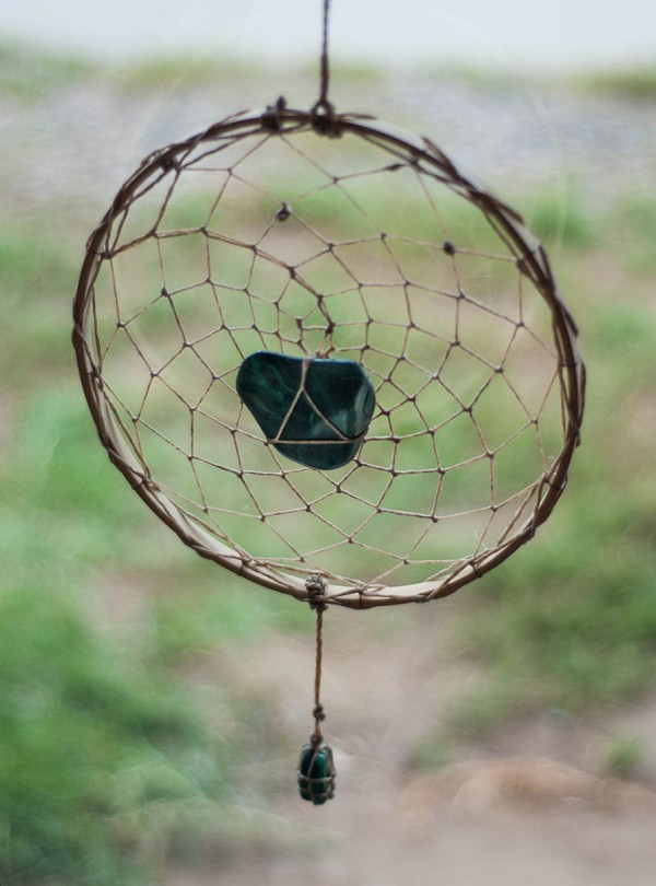 Malachite Dreamcatcher