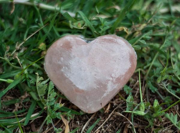 Himalayan Salt Heart Shape