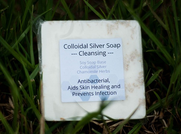 Colloidal Silver Soap - Cleansing