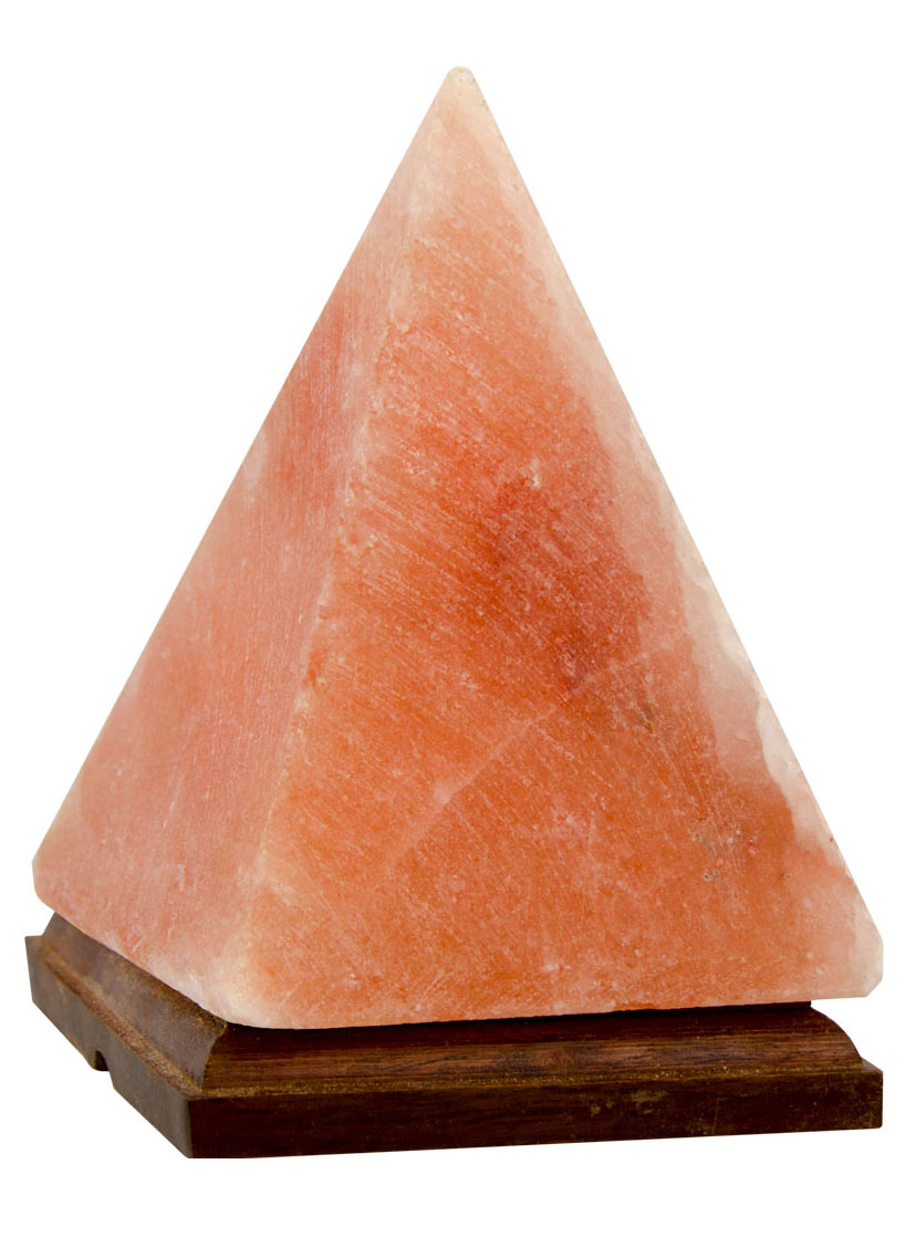 Himalayan Pyramid Salt Lamp