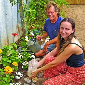 Jano's Garden: Plant and rock people