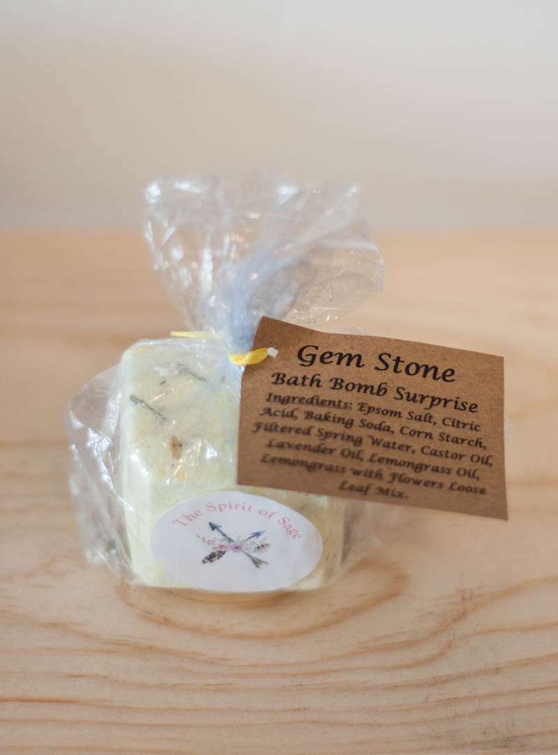 Gem Stone Bath Bomb