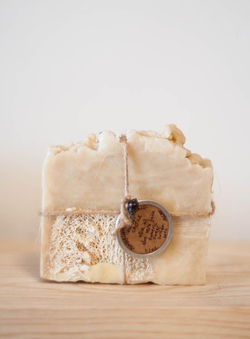 Timberline Topicals Vegan Loofah Castile Soap