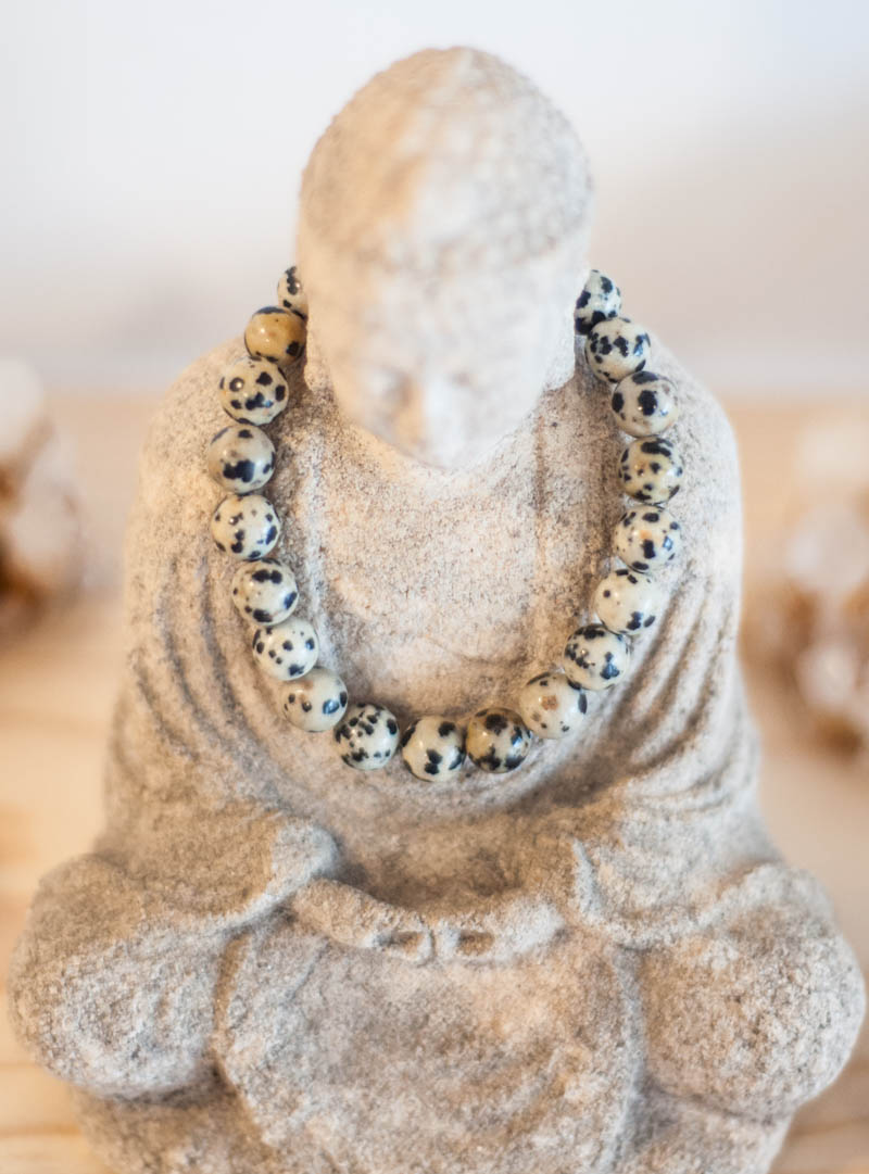 Dalmation Stone Bracelet