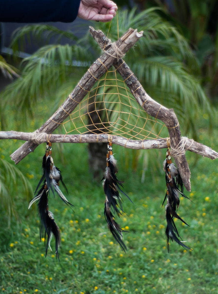 Earth Triangle Dreamcatcher