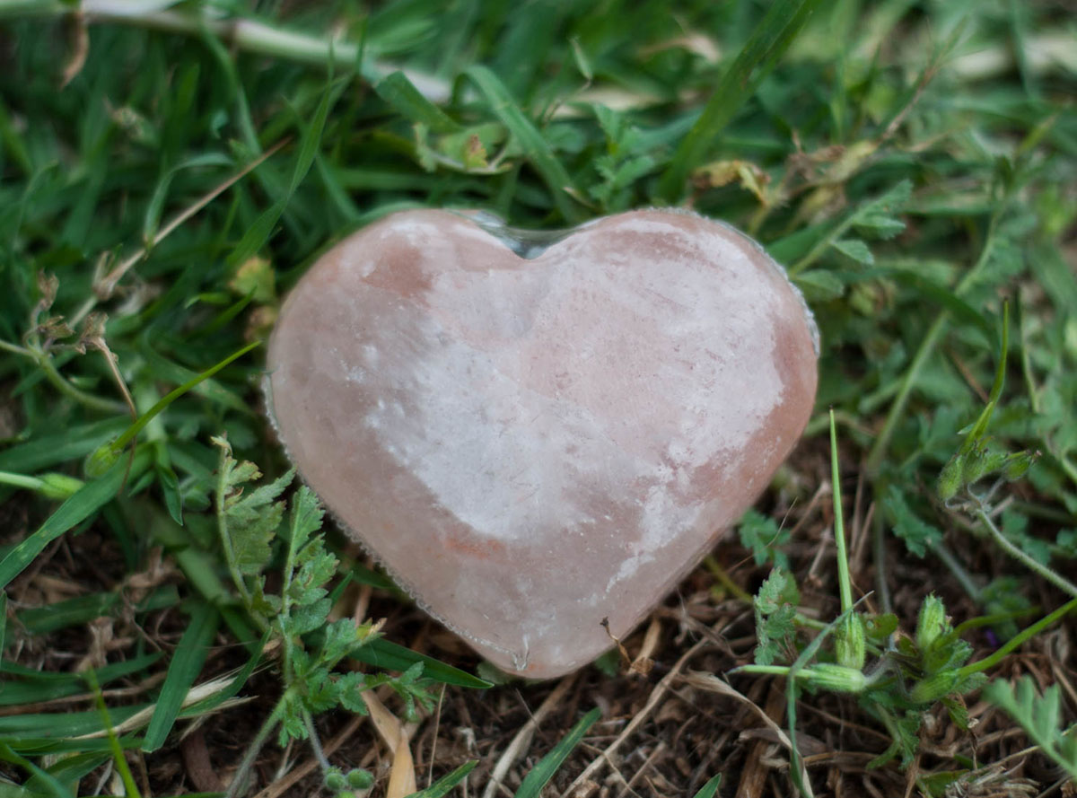 Himalayan Salt Heart Shape