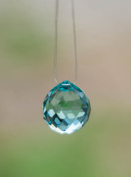 Swarovski Crystal 20mm Rainbow Maker Ball Teal