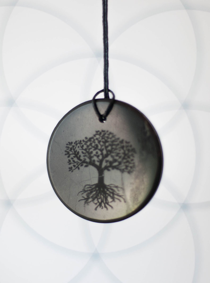 Shungite Tree of Life Pendant