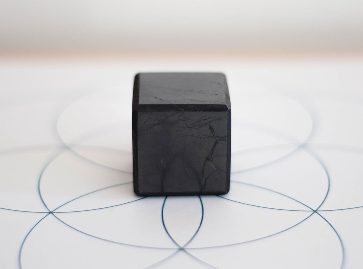 Shungite Cube - small