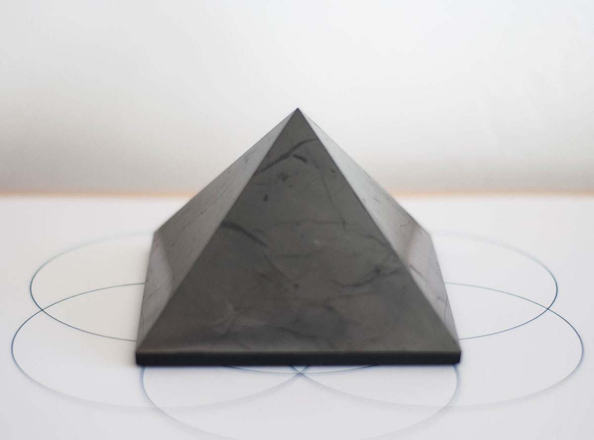 Shungite Pyramid - large