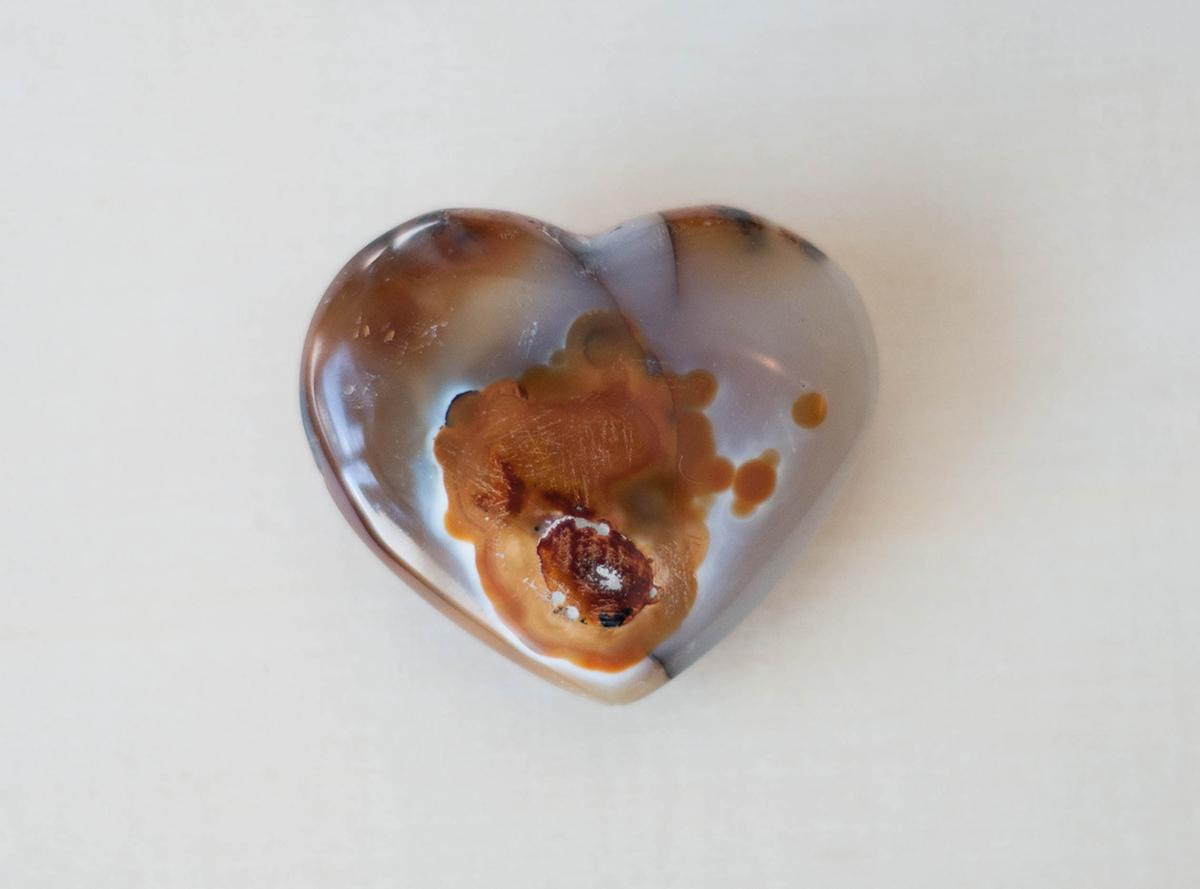 Agate Hearts Medium