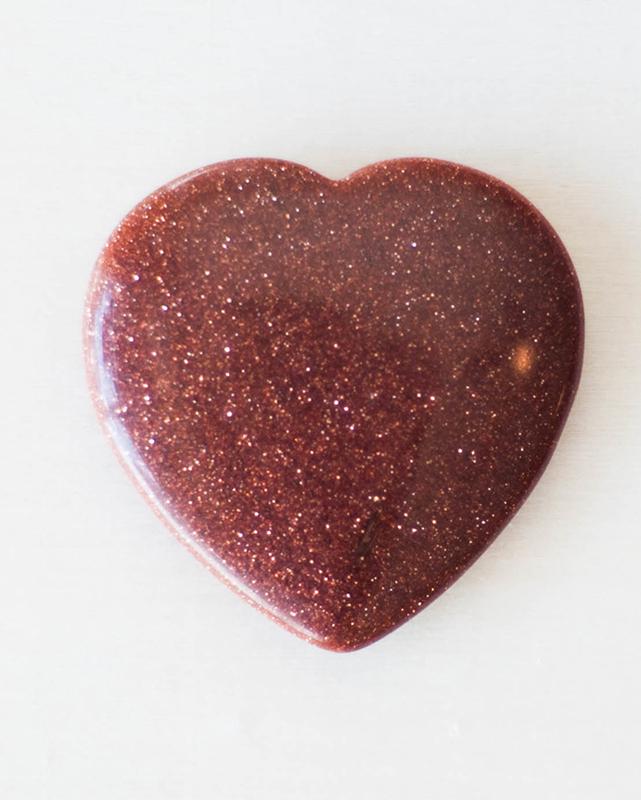 Goldstone Small Heart