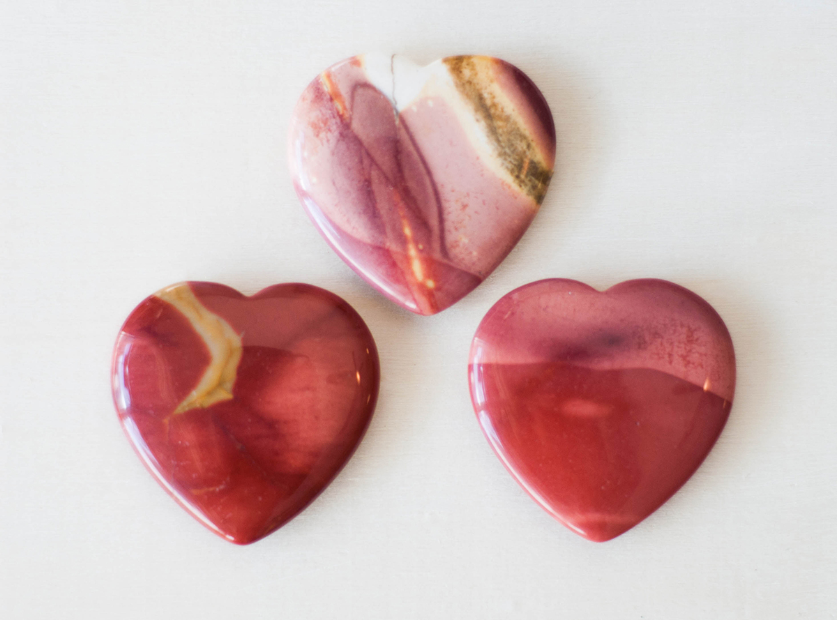 Mookite Heart Small