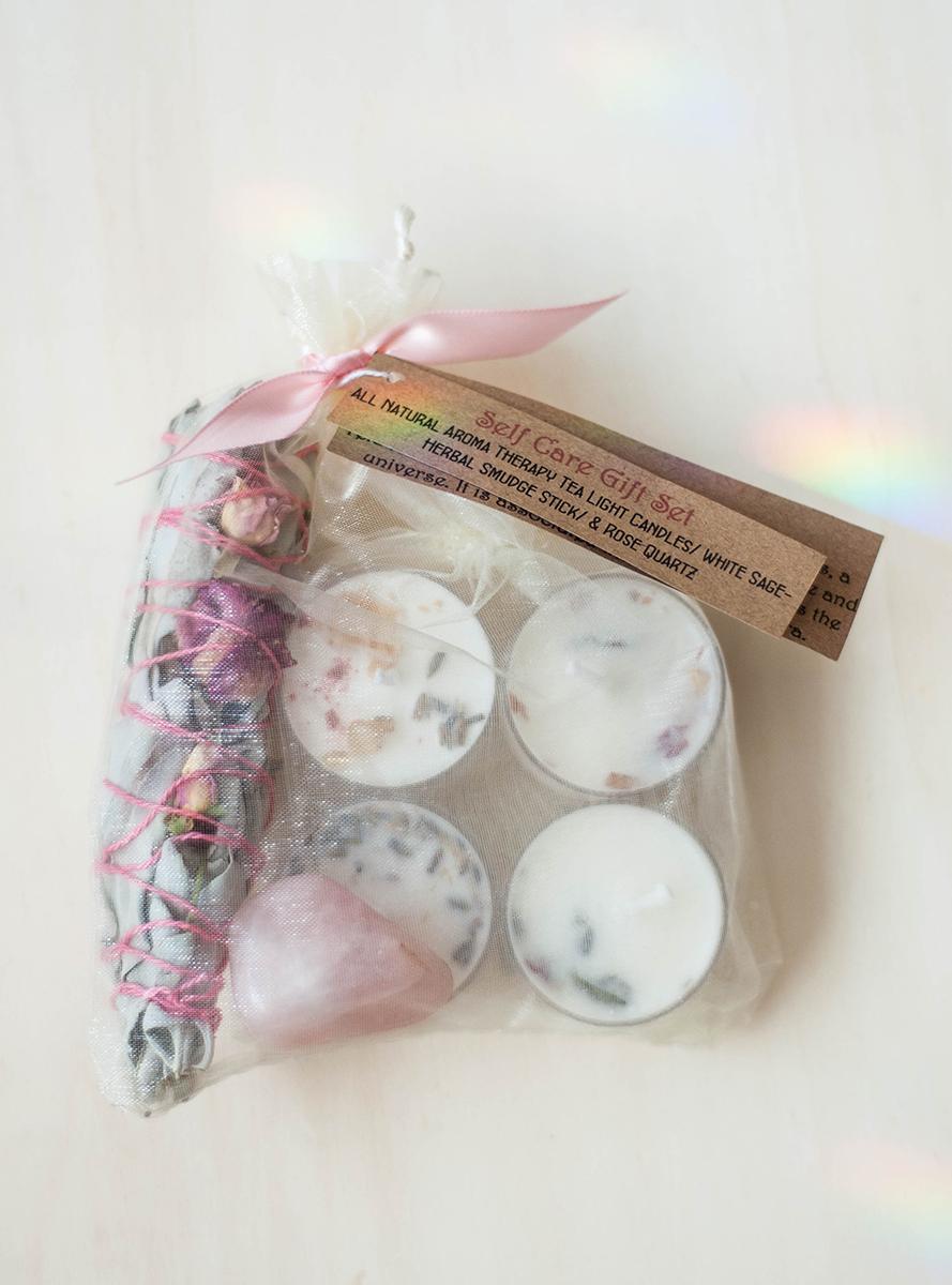 Self Care Kit Set - Rose Quartz