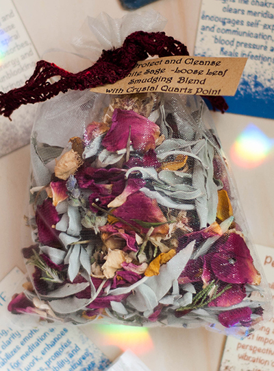 Sacred Sage and Wildflower Loose Leaf Incense