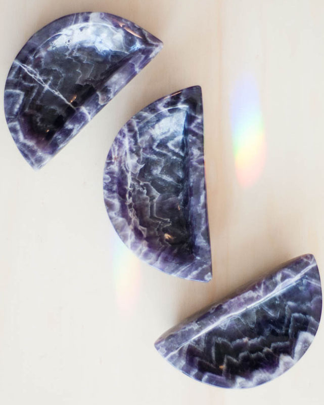 Amethyst Moon Bowl