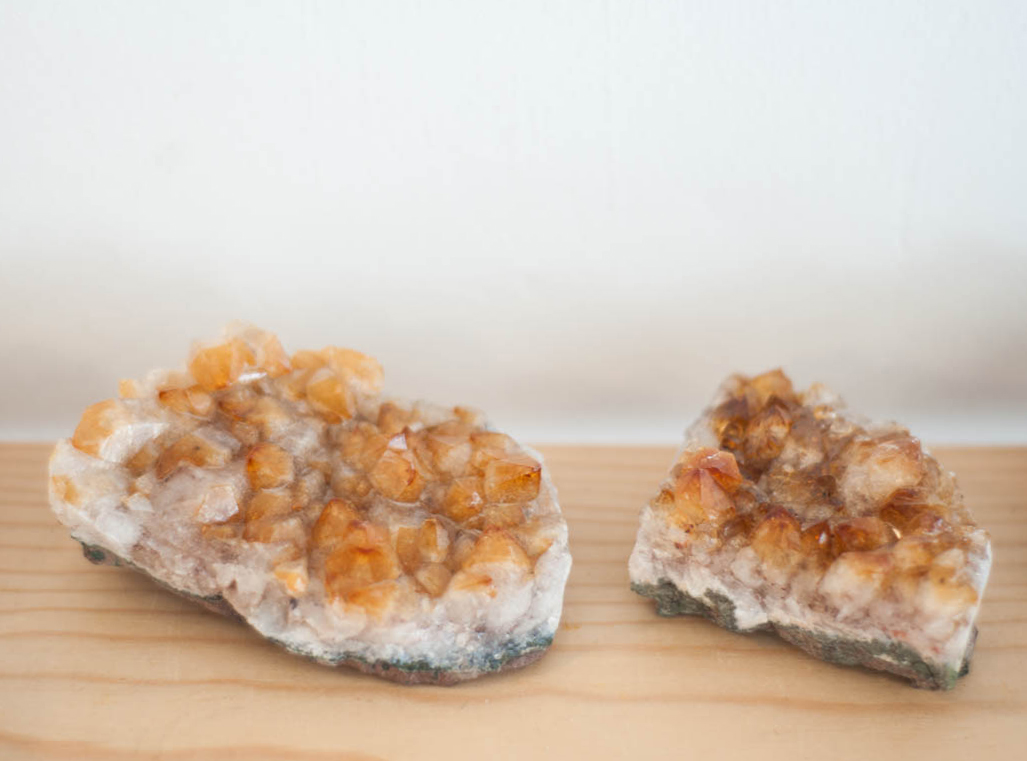 Raw Citrine Cluster 3-5 inches