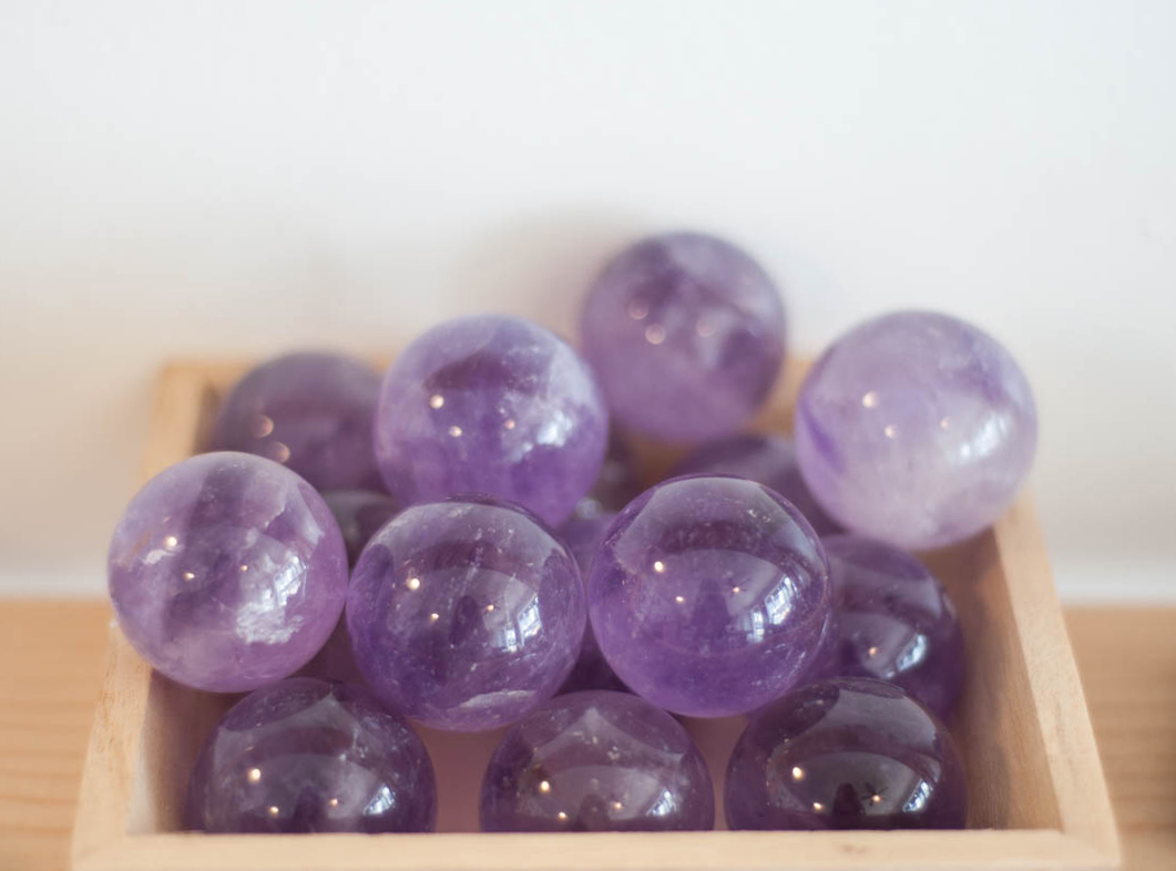 Amethyst Sphere 1.25 inches
