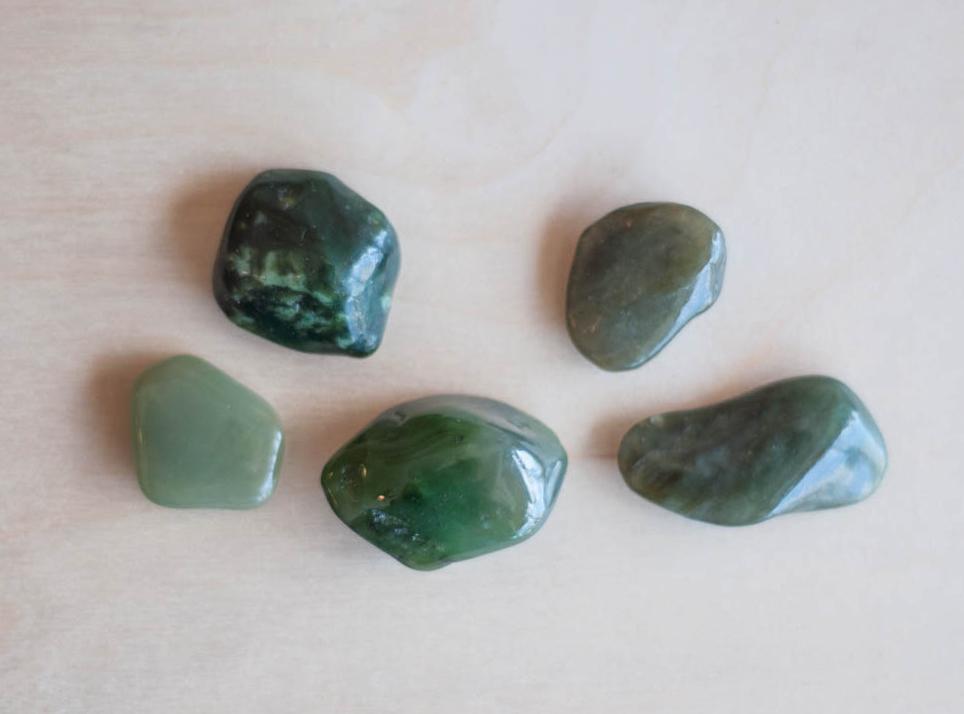 Tumbled Jade