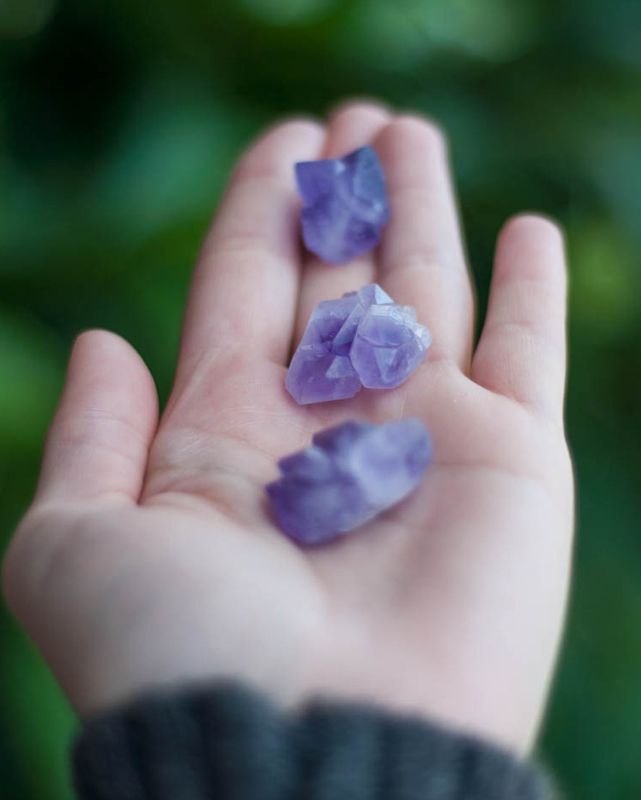 Amethyst tiny cluster