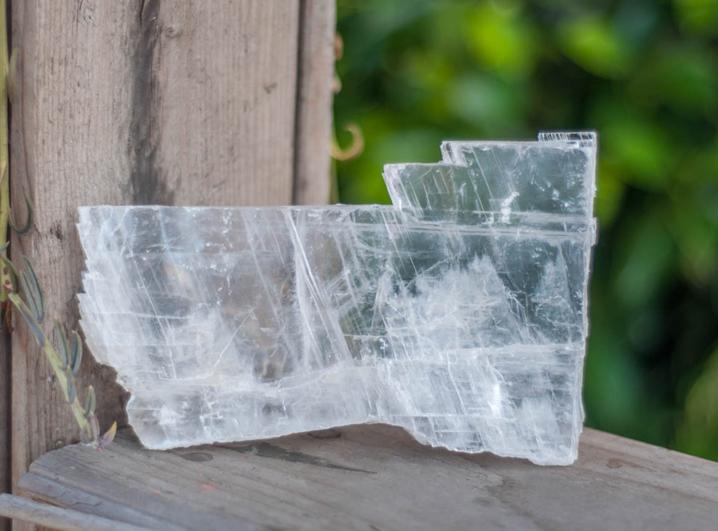 Raw Selenite Slab