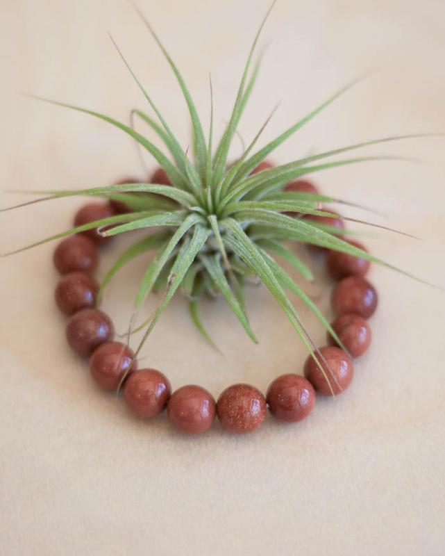 Goldstone Bracelet 10 mm