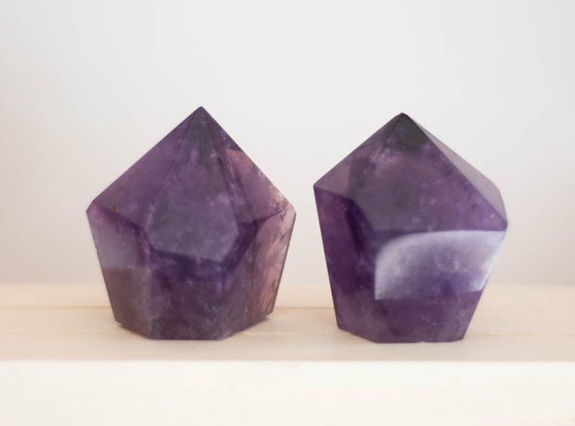 Amethyst Tower - short and wide