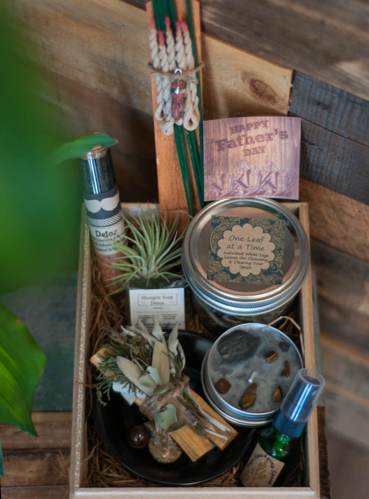 Father's Day gift Set with small plate