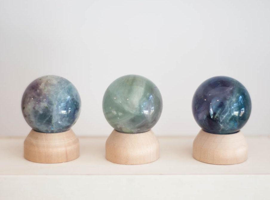 Fluorite Sphere Small