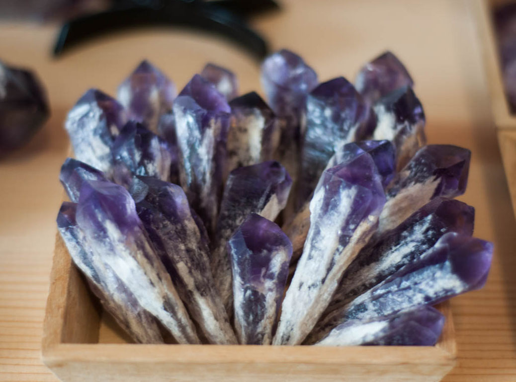 Pineapple Amethyst Point