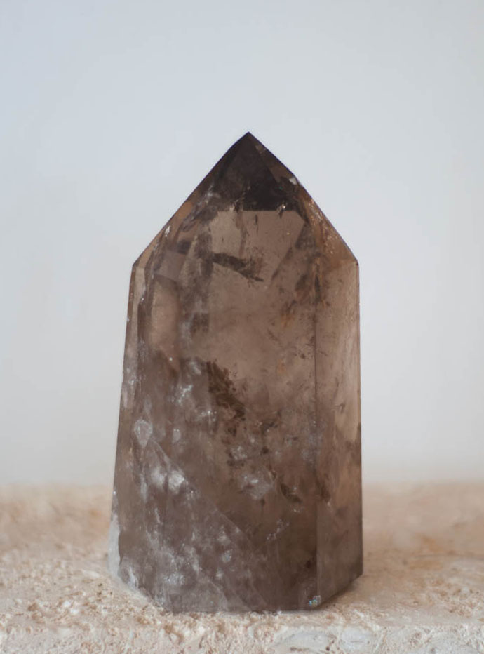 Large Smoky Quartz Tower