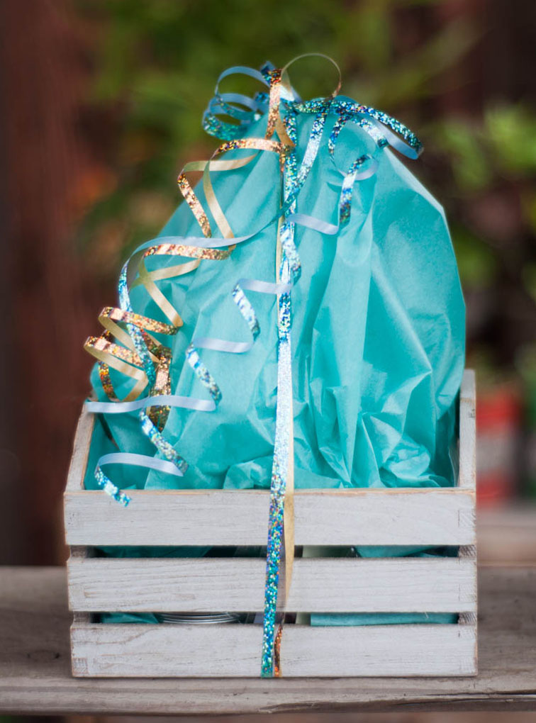 Custom Birthday Gift Box - large