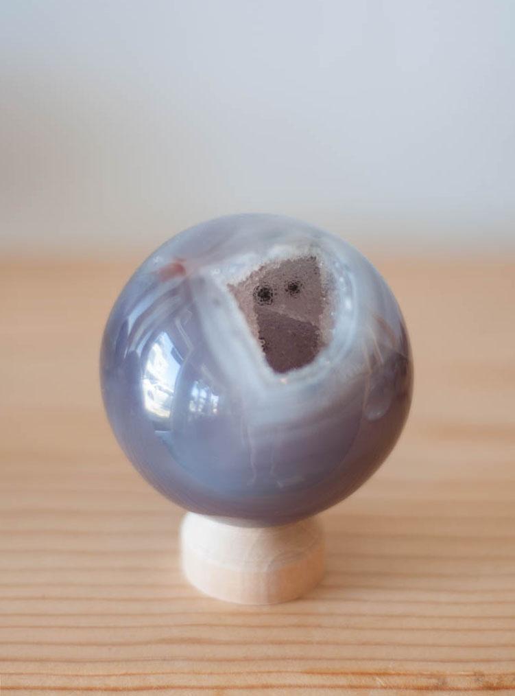 Agate Geode Sphere #2
