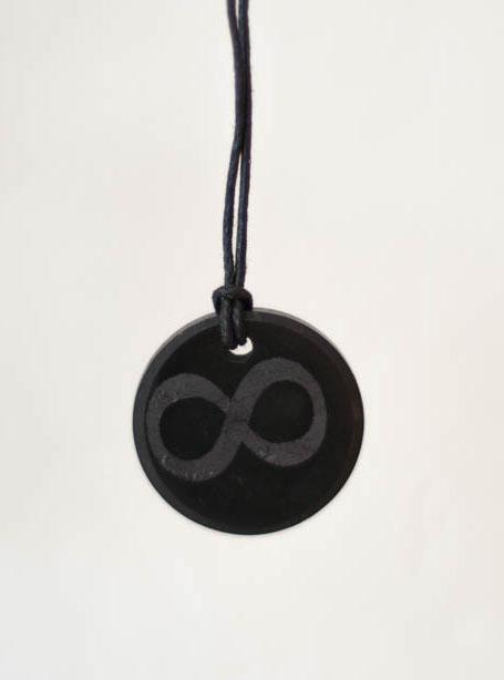 Shungite Infinity Pendant