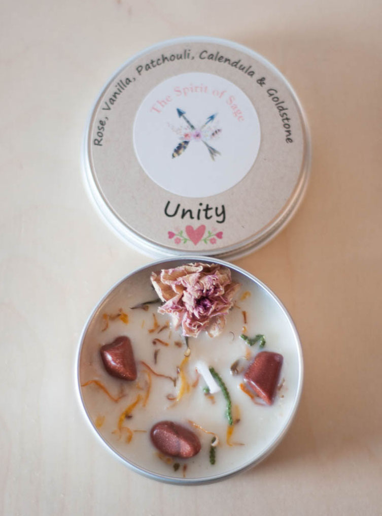 Unity Tin Travel Candle