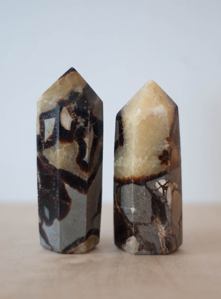 Septarian Yellow Tower large