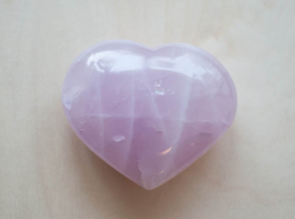 Rose Quartz Large Heart #2