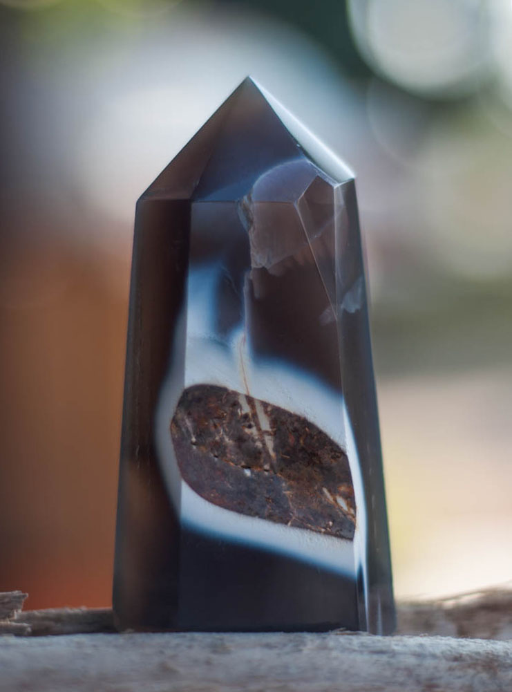 Agate Geode Tower #2