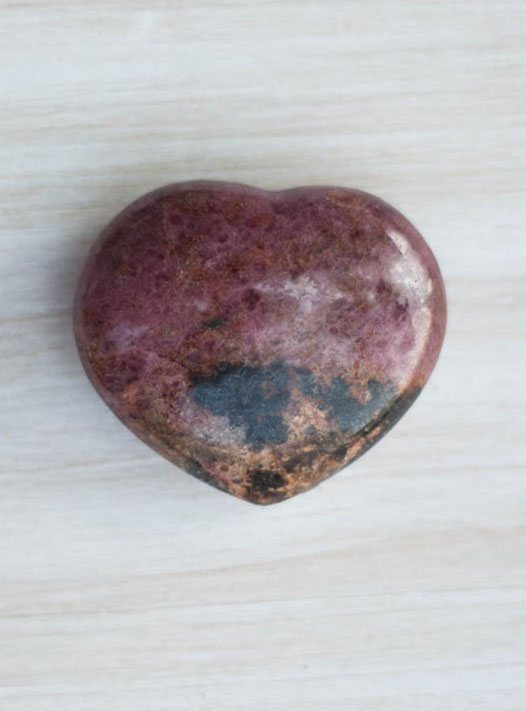 Rhodonite Heart small