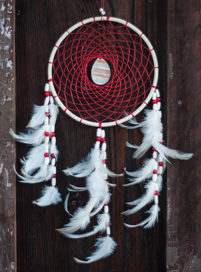 Red Agate Dreamcatcher