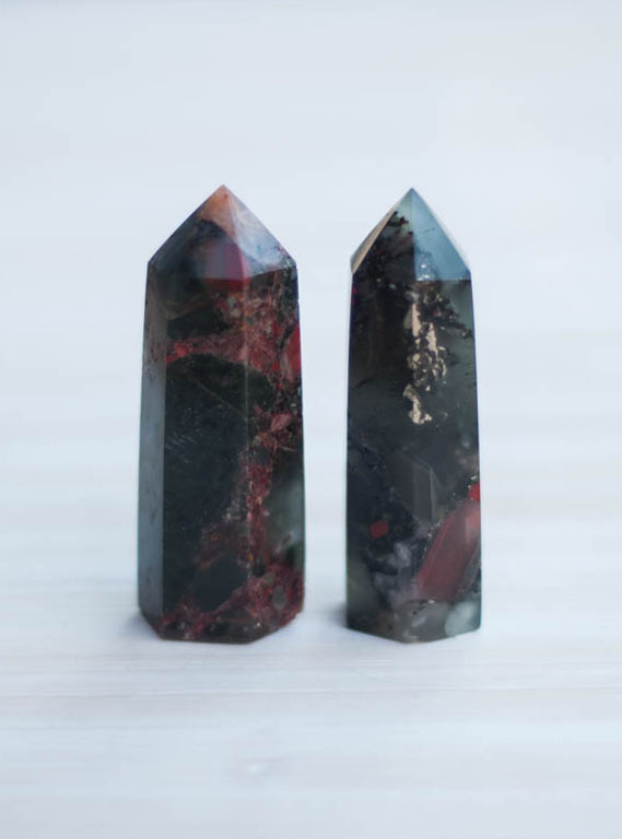 African Bloodstone Tower small