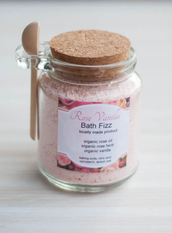 Bath Fizz Rose Vanilla