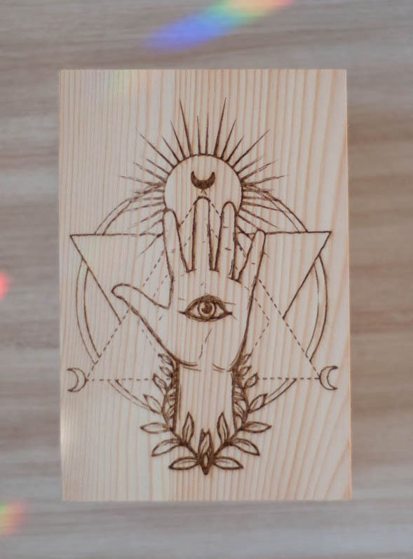 Intuition Wood Box