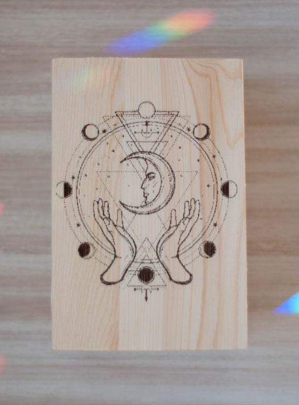 Balance Wood Box