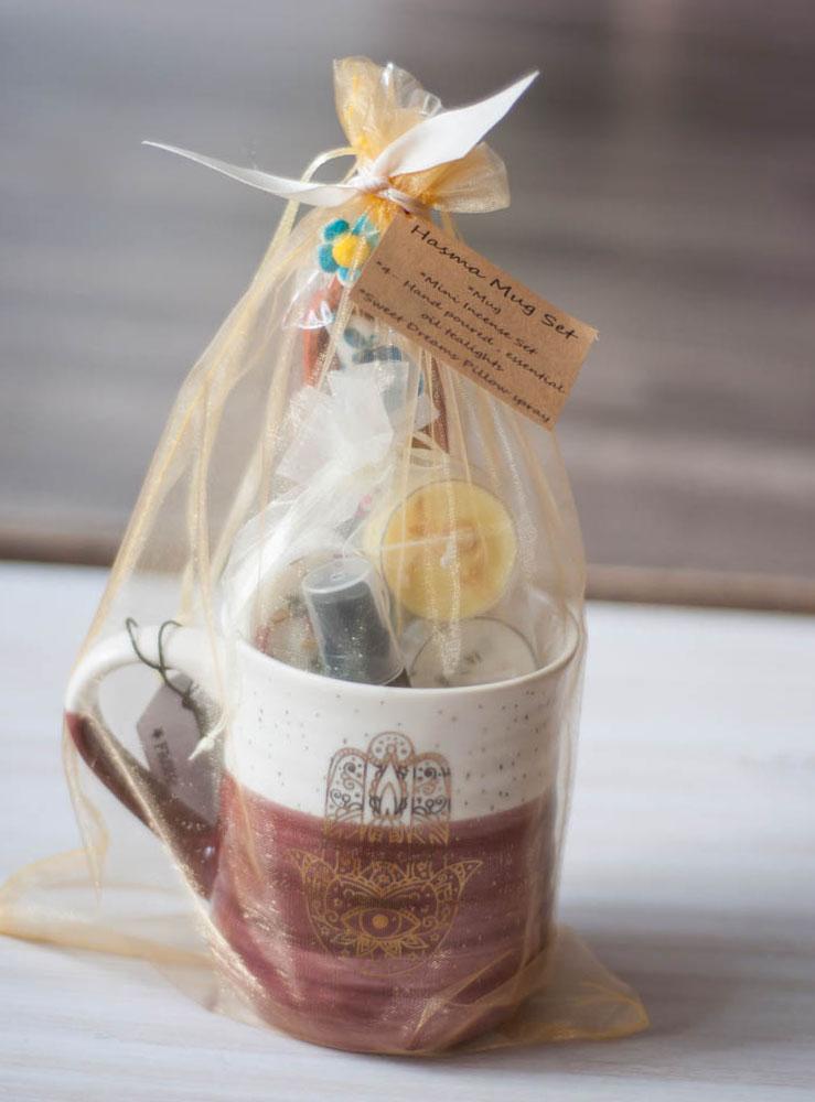 Hamsa Mug Gift Set